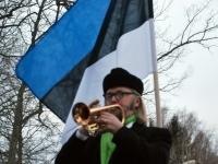 003 Eesti Vabariigi 98. aastapäeva tähistamine Sindis. Foto: Urmas Saard