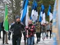 004 Eesti Vabariigi 98. aastapäeva tähistamine Sindis. Foto: Urmas Saard