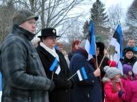 007 Eesti Vabariigi 98. aastapäeva tähistamine Sindis. Foto: Urmas Saard
