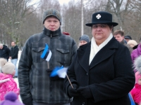 008 Eesti Vabariigi 98. aastapäeva tähistamine Sindis. Foto: Urmas Saard