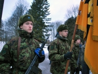 009 Eesti Vabariigi 98. aastapäeva tähistamine Sindis. Foto: Urmas Saard