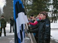 012 Eesti Vabariigi 98. aastapäeva tähistamine Sindis. Foto: Urmas Saard