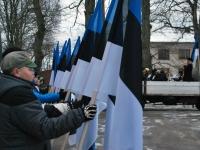 013 Eesti Vabariigi 98. aastapäeva tähistamine Sindis. Foto: Urmas Saard