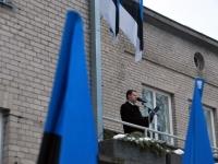 018 Eesti Vabariigi 98. aastapäeva tähistamine Sindis. Foto: Urmas Saard