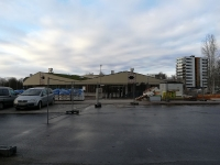 003 Ehitusjärgus Raja tänava lasteaed-ujula. Foto: Urmas Saard