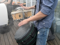 021Mattias Siitan.  Ekstaatiline tants Solarise katuseaias. Foto Urmas Saard Külauudised