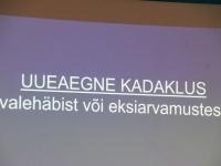 009 Emakeelepäeva konverents Rahvusraamatukogus. Foto: Urmas Saard