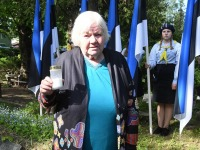 Emilie Rosalie Beermanni kalmul Viljandi Vanal kalmistul. Foto: Urmas Saard / Külauudised