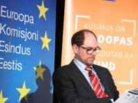 013 Andres Kasekamp Euroopa Liidu eesistujariigi peakorteris. Foto: Urmas Saard