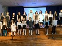 011 EV 102. aastapäeva kontsert-aktus Sindi gümnaasiumis. Foto: Urmas Saard