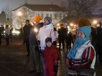 EV103. aastapäeval tõrvikutega Iseseisvuse väljakul. Foto: Urmas Saard / Külauudised