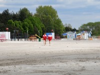 3 G4S rannavalve Pärnu keskrannas. Foto: Urmas Saard / Külauudised