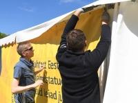006 Grillfest Pärnus kaheksandat korda, ettevalmistus. Foto: Urmas Saard