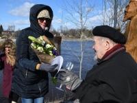 015 Hans Solli 90. sünnipäeval. Foto: Urmas Saard