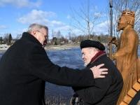 018 Hans Solli 90. sünnipäeval. Foto: Urmas Saard