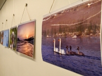 Helen Parmeni Sindi linna fotod Sindi raamatukogus. Foto: Urmas Saard / Külauudised