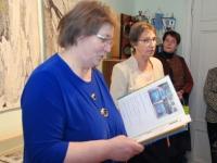 015 Helgi Tuul 70, näituse avamine Sindis. Foto: Urmas Saard