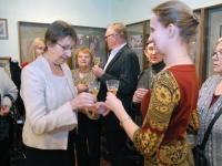 038 Helgi Tuul 70, näituse avamine Sindis. Foto: Urmas Saard