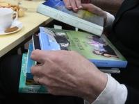 011 Heli Künnapas Urge raamatukogus. Foto: Urmas Saard