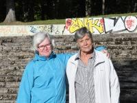 5  Helen Parmen ja Helle Artel. Foto: Urmas Saard / Külauudised