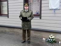 011 Hengo Tulnola mälestustahvli avamisel Pärnus. Foto: Urmas Saard