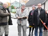 014 Hengo Tulnola mälestustahvli avamisel Pärnus. Foto: Urmas Saard
