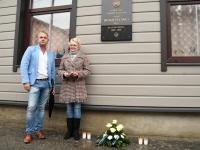 018 Hengo Tulnola mälestustahvli avamisel Pärnus. Foto: Urmas Saard