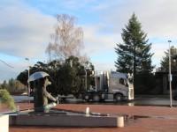 002 Hõbenulg on Otepääl käesoleva aasta jõulupuu. Foto: Monika Otrokova