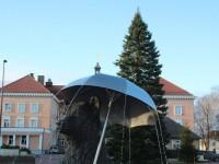 008 Hõbenulg on Otepääl käesoleva aasta jõulupuu. Foto: Monika Otrokova