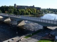 Narva jõgi. Foto: Urmas Saard / Külauudised