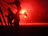 008 Iidetulede öö Pärnu keskrannas. Foto: Urmas Saard