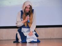 002 Iseseisvuspäeva eelne aktus Sindi gümnaasiumis. Foto: Urmas Saard