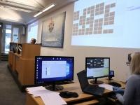 002 Istungid Microsoft Teams programmi kaudu. Foto: Jukko Nooni