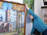 003 Jakob Sutt on maalinud Sindi kirikut. Foto: Urmas Saard