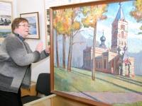 004 Jakob Sutt on maalinud Sindi kirikut. Foto: Urmas Saard