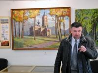 006 Jakob Sutt on maalinud Sindi kirikut. Foto: Urmas Saard