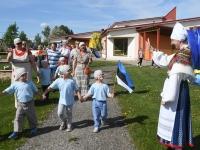 018 Jänesselja lasteaia IV laulu- ja tantsupidu. Foto: Urmas Saard