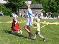 076 Jänesselja lasteaia IV laulu- ja tantsupidu. Foto: Urmas Saard