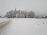 Laiuse kirik 26. detsembril. Foto: Jaan Lukas / Külauudised