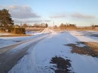Vana maantee, mida mööda saab Jõgeva valla talvekeskusest Jõgeva linnast kevadekeskusesse Tormasse. Foto: Jaan Lukas