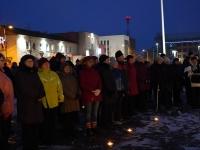 002 Jõulurahu väljakuulutamisele kaasaelajad. Foto: Marge Tasur