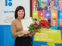 006 Avinurme Sotsiaal- ja Turvekeskuse eestvedaja Anne Paas. Foto Liina Laurikainen