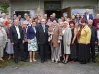 Jõgevamaa Diabeetikute Seltsi liikmed ja külalised seltsi 20. aastapaeval. Foto: Marge Tasur