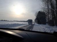 Jõgeva-Mustvee maantee. Foto: Jaan Lukas