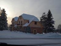 Talverüüs Veski külalistemaja Kantkülas. Foto: Jaan Lukas