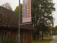 Sügiskeskust Palamust tutvustav viit. Foto: Jaan Lukas