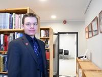 Joosep Ailiste fotod Sindi raamatukogus. Foto: Urmas Saard / Külauudised