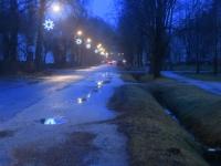 016 Jõuluaegse Sindi tänavatel. Foto: Urmas Saard