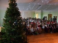 003 Jõuluaktus Sindi gümnaasiumis. Foto: Urmas Saard