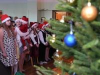 004 Jõuluaktus Sindi gümnaasiumis. Foto: Urmas Saard